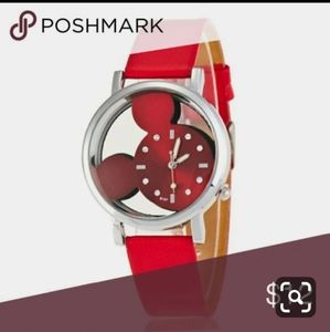 Disney mickey mouse hologram wristwatch